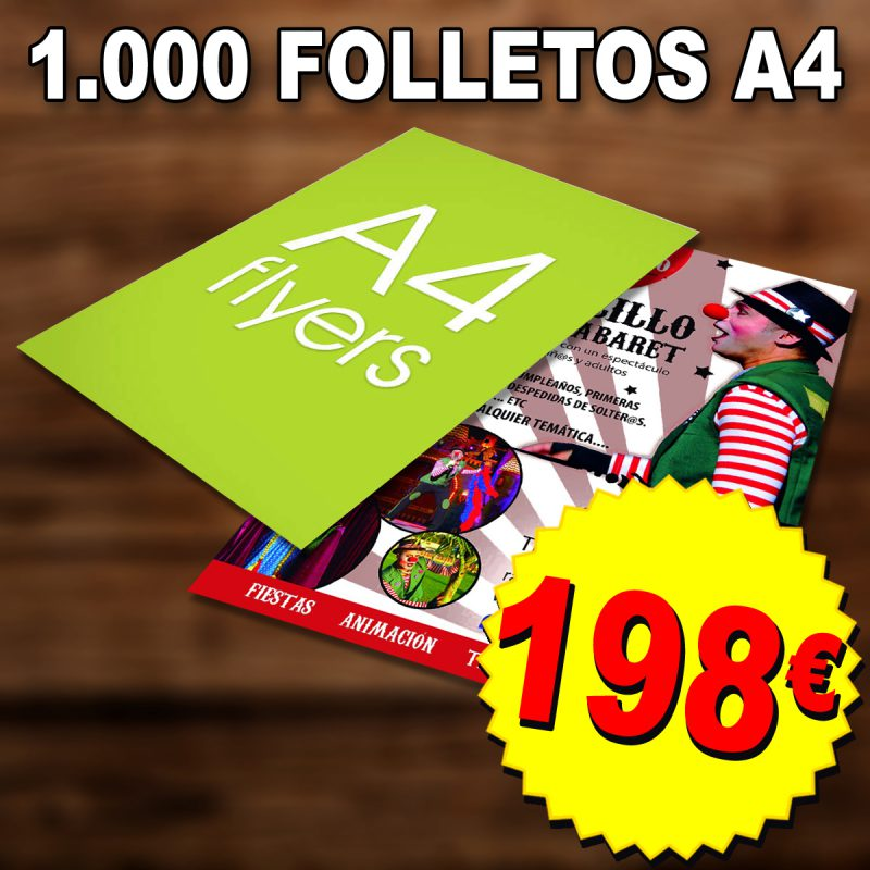 Flyers Folletos Las Palmas